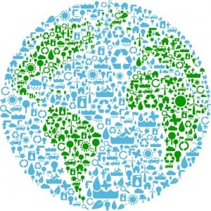 image of earth day logo