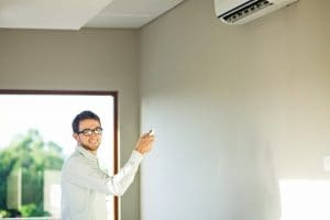 image of ductless air conditioner